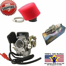 GY6 Carburetor Filter Plug 50cc Scooter Moped Carb Roketa Sunl Taotao Baja 18mm