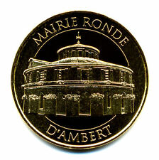 63 AMBERT Mairie ronde, Couleur or, 2016, Monnaie de Paris