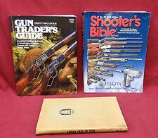 3 Book Lot-Shooter's Bible 2005 ed./Gun Trader's Guide 23rd ed./Lucian Cary Guns