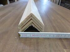 (16) 4Stk 100cm Winkelleisten Kiefer 45x45mm