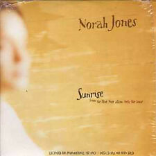 CD Single Norah JONES Sunrise Promo ARGENTINA NEW
