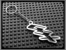 KEYRING for SUZUKI GSX - STAINLESS STEEL - HAND MADE - CHAIN LOOP FOB