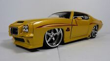 "RARE-Jada 1:24 Big Time Muscle 1971 Pontiac ""THE JUDGE""(Yellow)"