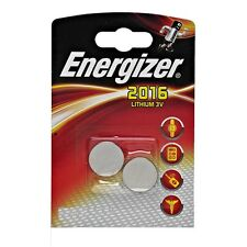2 Pilas Energizer Litio CR2016 3 V