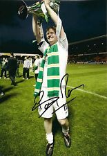 Barry Robson signed photo (Celtic)