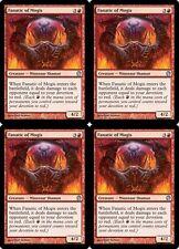 4x FANATIC OF MOGIS Theros MTG Red Creature — Minotaur Shaman Unc