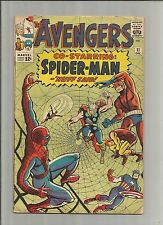 The Avengers #11 (Dec 1964, Marvel) Co Starring Spiderman,  c8