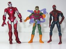 Marvel Universe Toy Figure Bundle  DOCTOR OCTOPUS vs SPIDER-MAN & IRON MAN