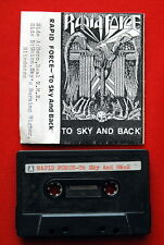 RAPID FORCE TO SKY & BACK 1990 RARE EXYU CASSETTE TAPE HEAVY SPEED THRASH METAL