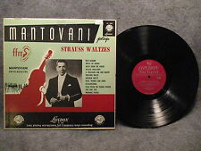 33 RPM LP Record Mantovani Plays Strauss Waltzes London High Fidelity LL 685 VG+