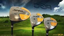 SENIOR LEFT HANDED DRIVER 1 3 5 FAIRWAY WOOD DRIVERS TAYLOR FIT GOLF WOOD SET