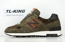 New Balance M1400CSR Heritage Olive Orange Made in USA Msrp $170 L6.5 R7 D