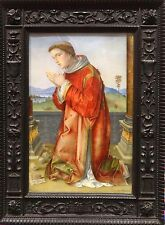Antique 16th Century Italian Renaissance Style St Francis Old Master Painting