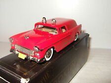 Rare Brooklin BRK 26A, 1955 Chevrolet Fire Marshals Truck, in 1:43 Scale.