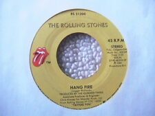 "ROLLING STONES ""HANG FIRE"" / ""NEIGHBOURS"" 7"" 45 MINT-"