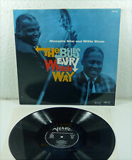 "MEMPHIS SLIM & WILLIE DIXON ""The Blues Every Which Way"" french VERVE Mono re LP"