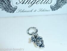 Engel, Angel, klein, hockend, 925 Silber Anhänger, #6580