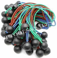 """(100) 9"""" Color Ball Bungee Cord Tarp Bungee Tie Down Strap Bungi Canopy Straps"""
