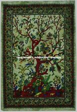 Tree of Life Cotton Tapestry Wall Art Hippie Bohemian Large Wall Hanging Throw