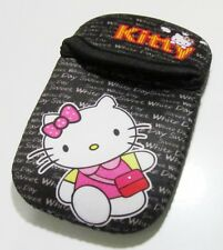 "Hello Kitty Neoprene Pouch For 4"" Smartphone iPhone SE/5/4/3/Nokia Samsung"