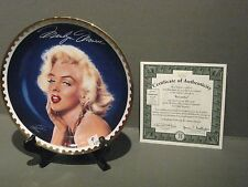 BRADFORD EXCHANGE PLATE # 6155A MARILYN MONROE FIRE AND ICE