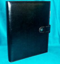 MomAgenda Gunmetal Smokey Gray Personal Mom Portfolio Day Planner 3 Ring Binder