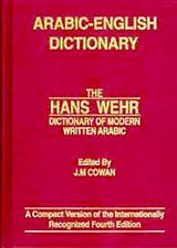 Hans Wehr Arabic to English Dictionary of Modern Written Arabic 4th Edition
