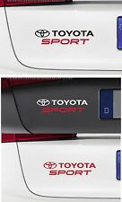 For TOYOTA - TOYOTA SPORT - CAR DECAL STICKER - SUPRA GT86 CELICA  - 220 x 50mm