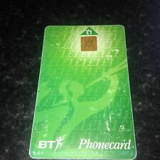 BRITISH TELECOM PHONECARD BT PHONE CARD £1 COLLECTABLE Expiry Date June 1998