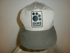 IAMS HAT BallCap Pet Food Company Dog Cat Animal Lovers Proctor Gamble Leipsic O