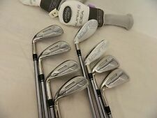 NEW LH ADAMS IDEA SUPER S IRON SET 4H-SW GRAPHITE LADIES IRONS 4-PW+SW WOMENS