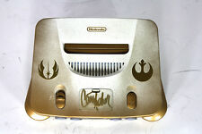 Custom Star Wars N64 Console signed by Carrie Fisher with RGB/LED mods