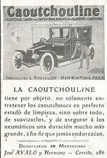 W5272 Caoutchouline - Specialitès ROUILLON - Pubblicità 1912 - Publicitè