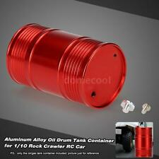 CNC Metal Oil Drum Tank Container for 1/10 RC4WD D90 Rock Crawler RC Car Q8O7