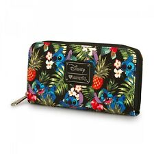 Disney Stitch Hawaiian Pebble Clutch Wallet