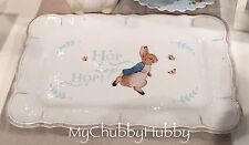 NWT Pottery Barn Kids ~PETER RABBIT~ Serving PLATTER Tray~EASTER~ Beatrix Potter