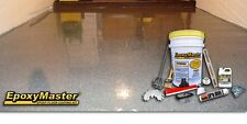 EpoxyMaster EMX002 Do-It-Yourself Epoxy Floor Paint Coating Kit, Dark Gray Gloss