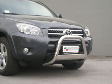 "Toyota Rav-4 Rav4 2006-2009  Ø63mm BULL BAR NUDGE BAR  ""CE APPROVED""  Frontbügel"