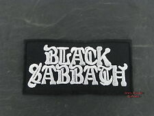 Patches Aufbügler Aufnäher Patch Black Sabbath Hardrock RocK'N'Roll