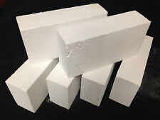 "K-26 Insulating Firebrick 9x4.5x 2.5"" IFB Fire Brick Thermal Ceramics Bricks K26"