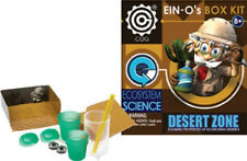DESERT ZONE KIT #32393 TEDCO TOYS~Professor Ein-O's BOX KIT Hands-On Experiments
