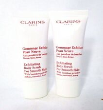 Lot 2 Clarins Exfoliating Body Scrub For Smooth Skin - 1.0 oz ( x 2 ) -