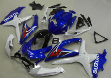 Injection Mold 08 09 For Suzuki GSXR600-750 K8 K9 Motor Fairing Bodywork Blue