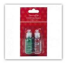 CHRISTMAS BASIC GLITTER GLUE RED AND GREEN FOR CARDS AND CRAFTS