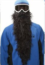 BEARDSKI ski mask Black Pearl - Long black beard Face Mask Skiing Snowboard