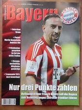 BAYERN MAGAZIN 8/62- 27.11. 2010 Ribery Demichelis & Ottl-XL Eintracht Frankfurt