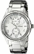 Guess U0442L1 Multi-Function Stainless Steel Silver Mid-Dial Women Watch