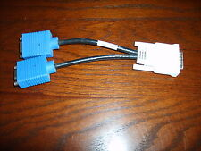 DMS-59 (LFH-59) to 2 VGA (Video) Adapter Y Cable~Dual Monitor~US Seller~HP/Molex