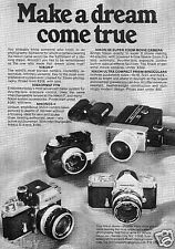 1970 Print Ad of Nikon F Nikkormat FTN Nikonos II Movie Camera & Binoculars