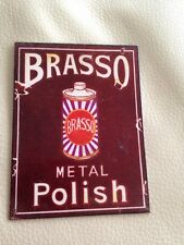 Brasso Polish Retro Fridge Magnet
